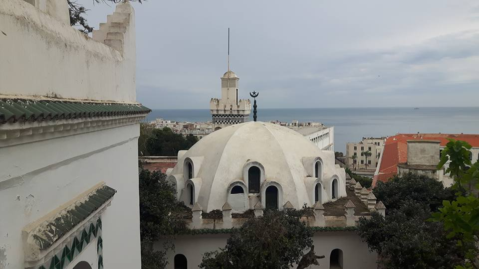 Sidi Abderrahmane Mosque, Casbah of Algiers district, northern Algeria (Riadh Moulaï)